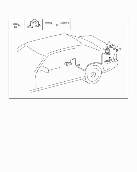 W210 takaluukku ei aukea