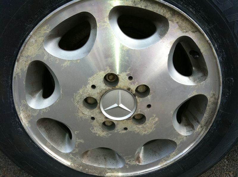 Alumiinivanteiden hapettumat